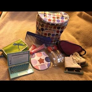 American Girl Travel Kit, Accessories, Ice Skates
